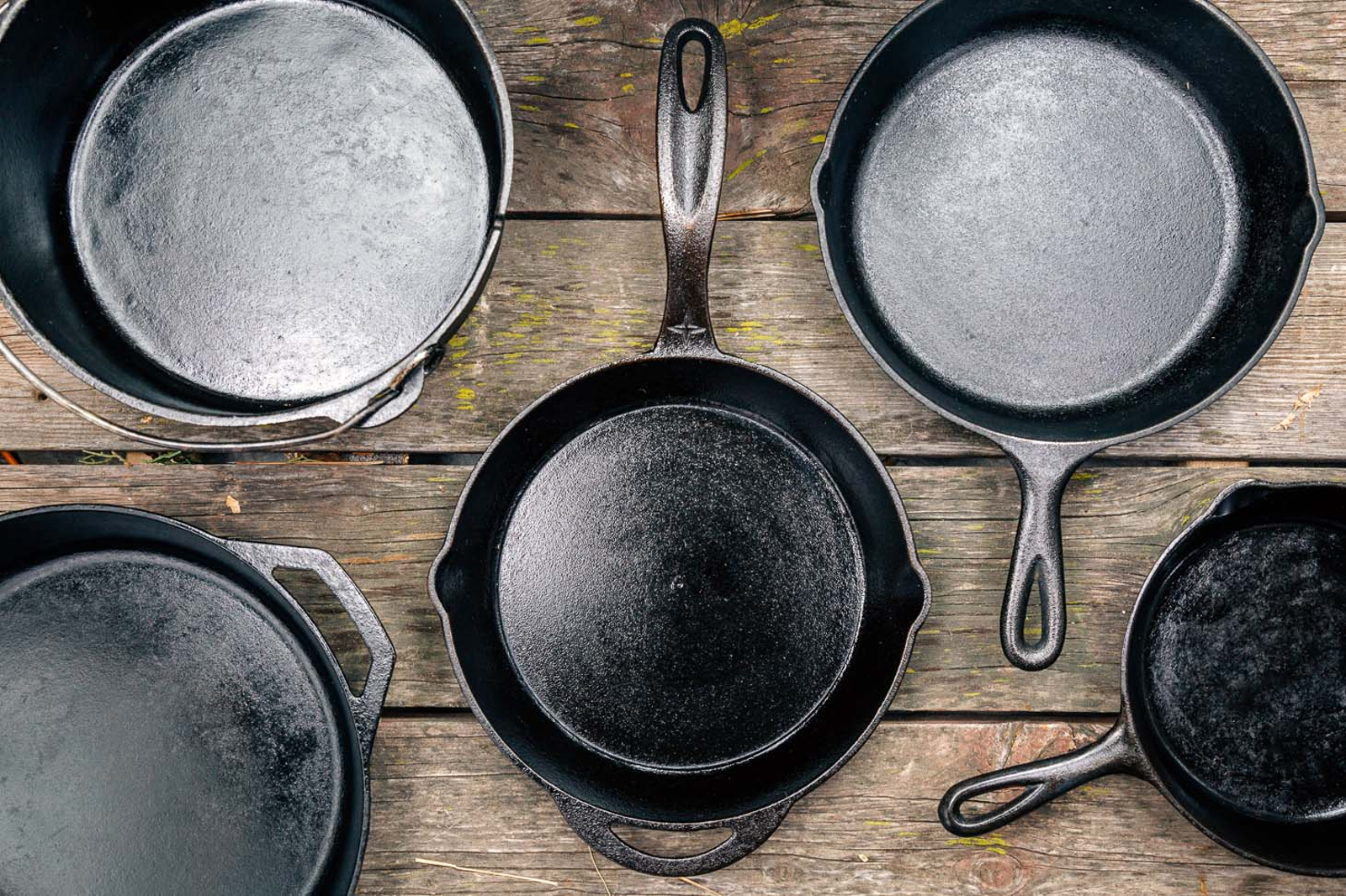 How to buy cast iron skillets and Dutch ovens