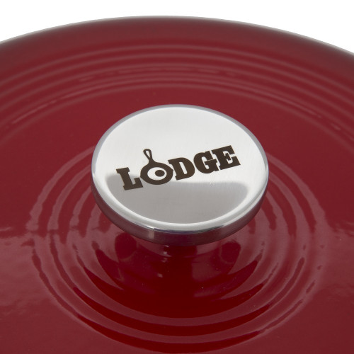 Lodge cast iron Dutch oven enamel