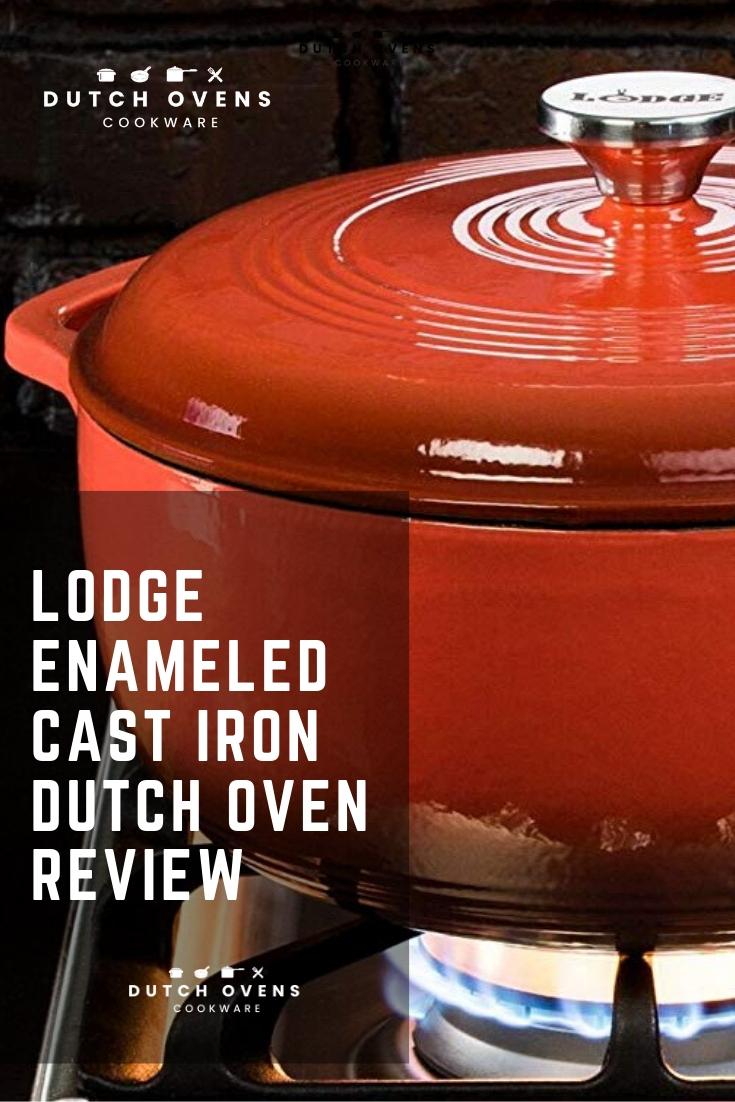 lodge enamel dutch oven review
