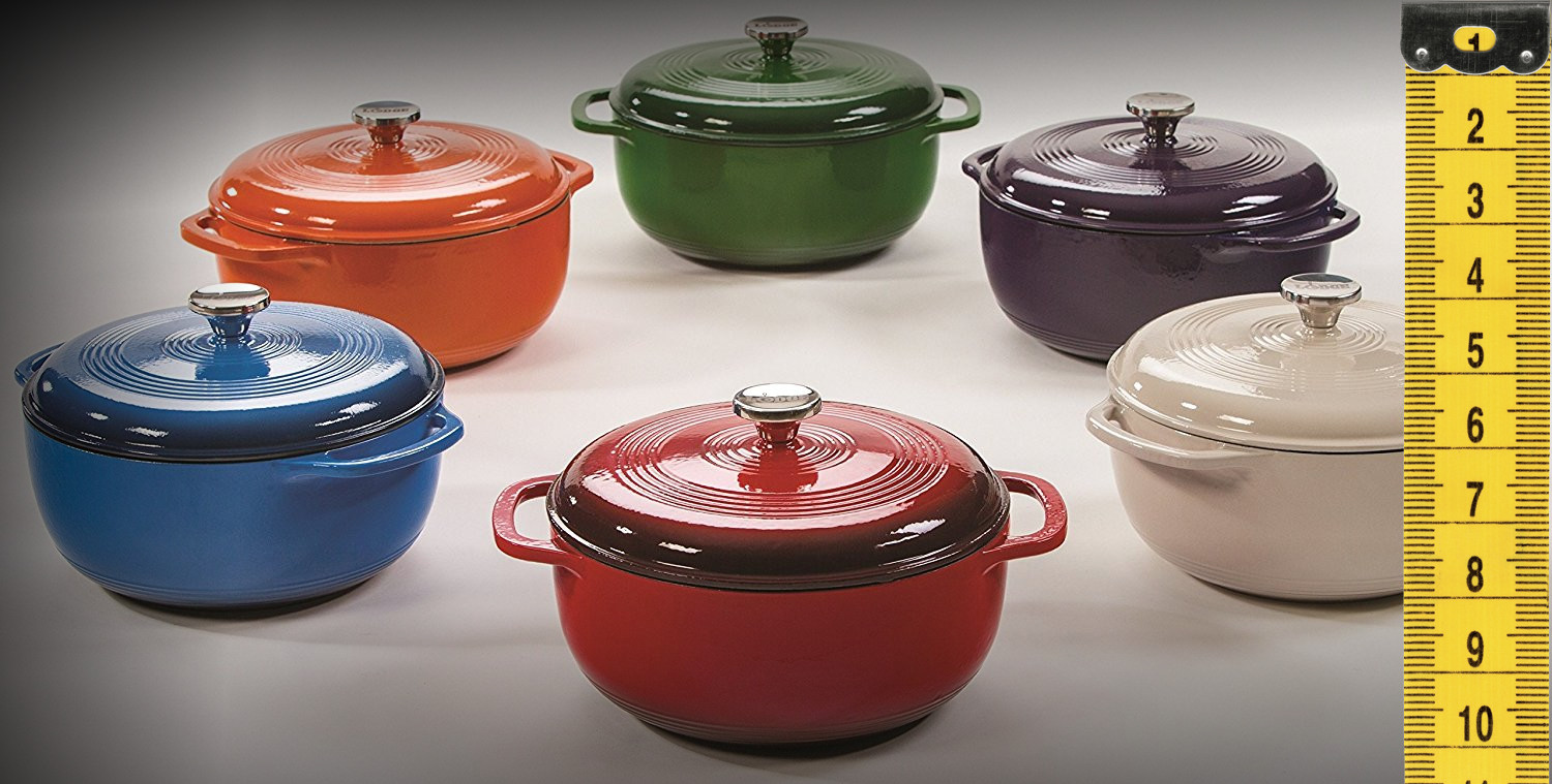 Most Popular Dutch Oven Size To Buy In 2020 Comparison Chart
