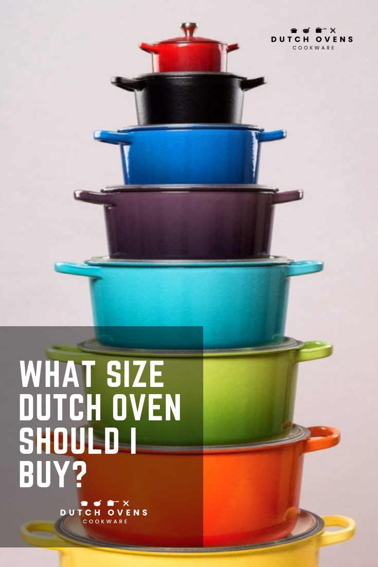 dutch oven size chart