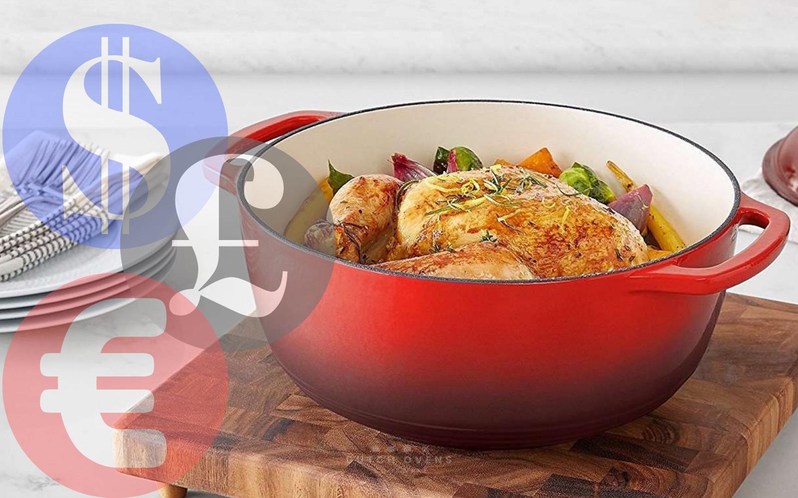 amazonbasics enameled dutch oven review