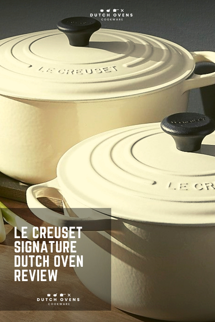 buy le creuset signature dutch oven