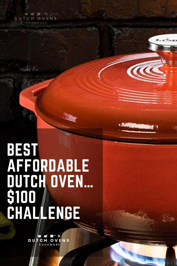 cheap cast iron dutch oven