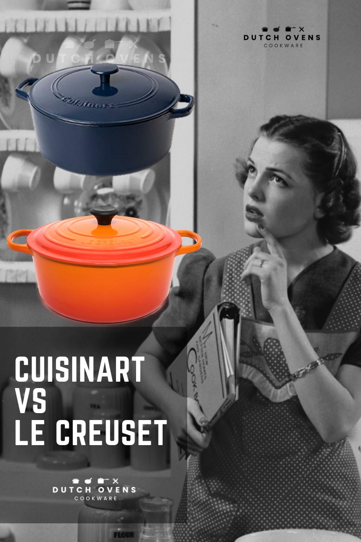 cuisinart vs le creuset dutch oven
