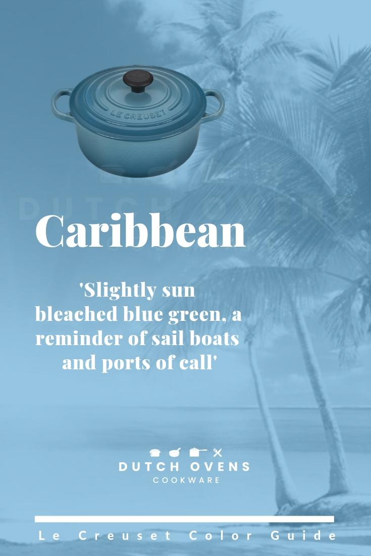 le creuset caribbean