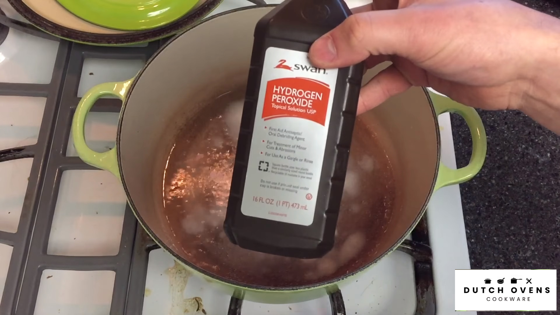 can you use soap to clean a dutch oven