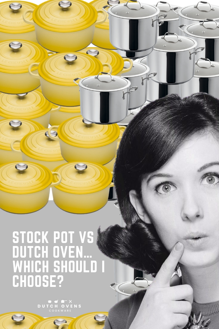 dutch oven or stock pot for soup