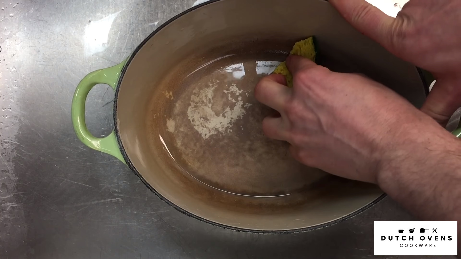 how to clean a dutch oven after use