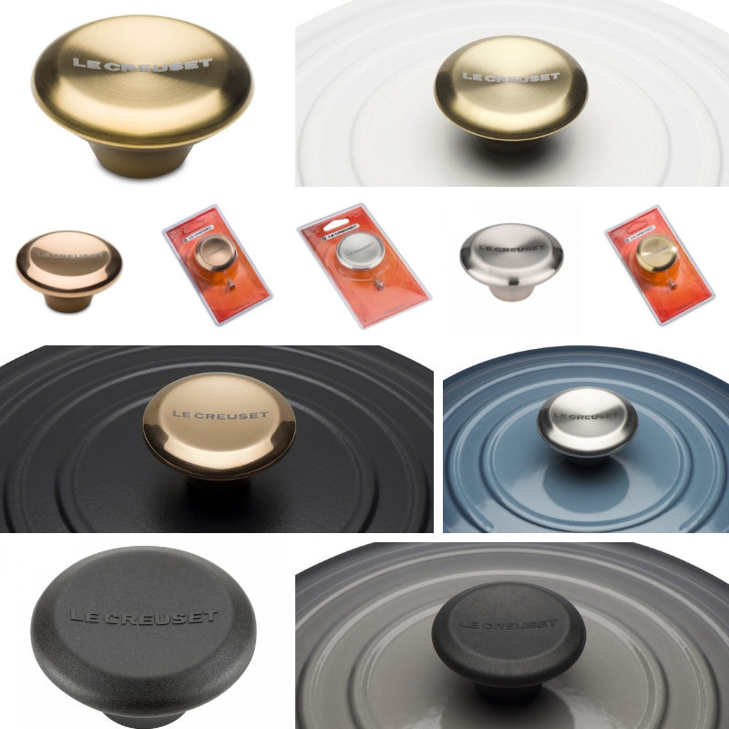 le creuset metal replacement knob