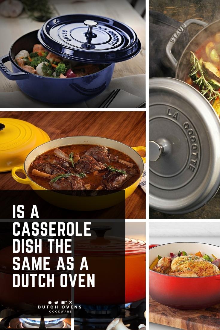 lodge casserole vs dutch oven