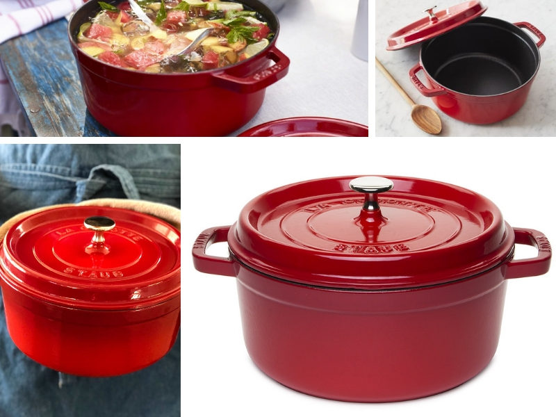 staub cherry color