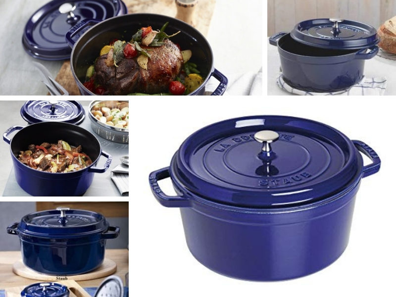 staub dark blue color