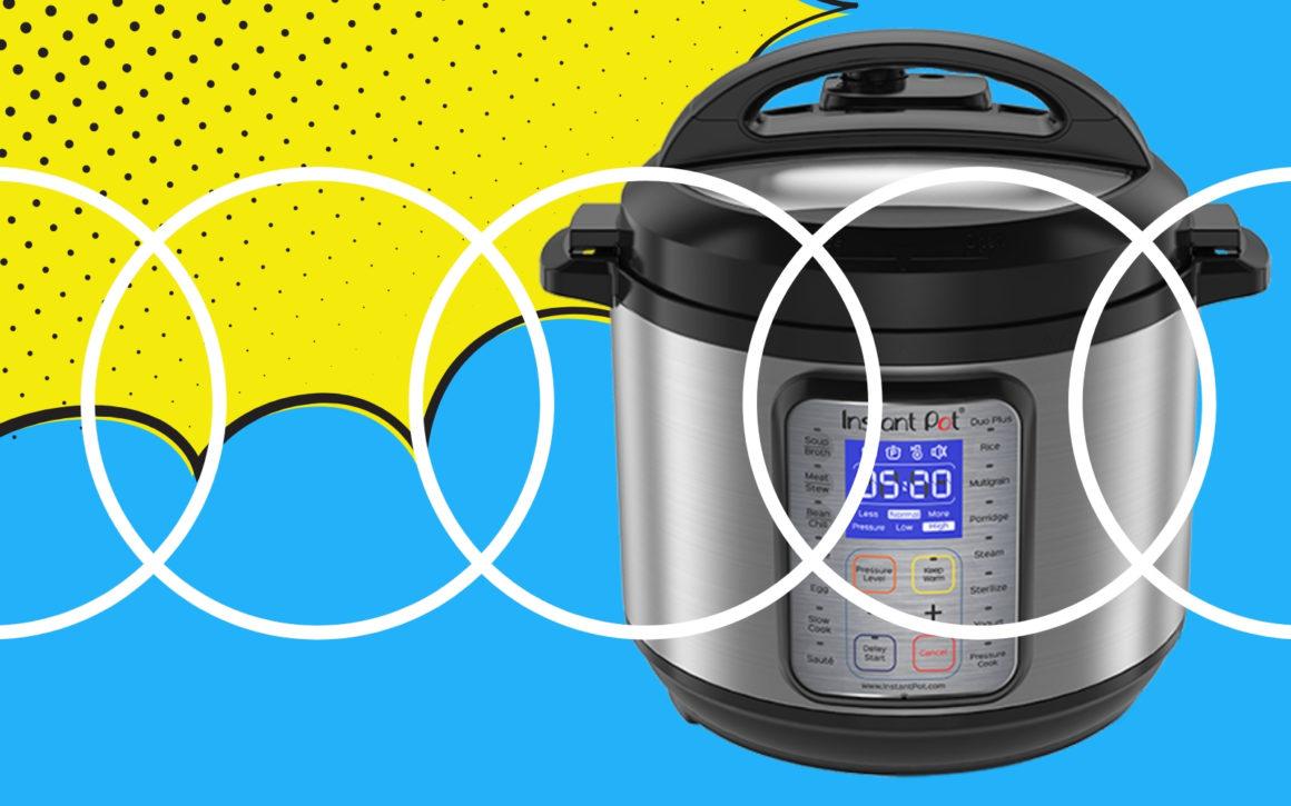 pressure cooker sealing ring sizes