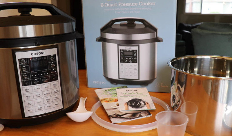 cosori 6 qt 11-in-1 programmable multi cooker