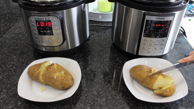 cosori electric pressure cooker vs instant pot