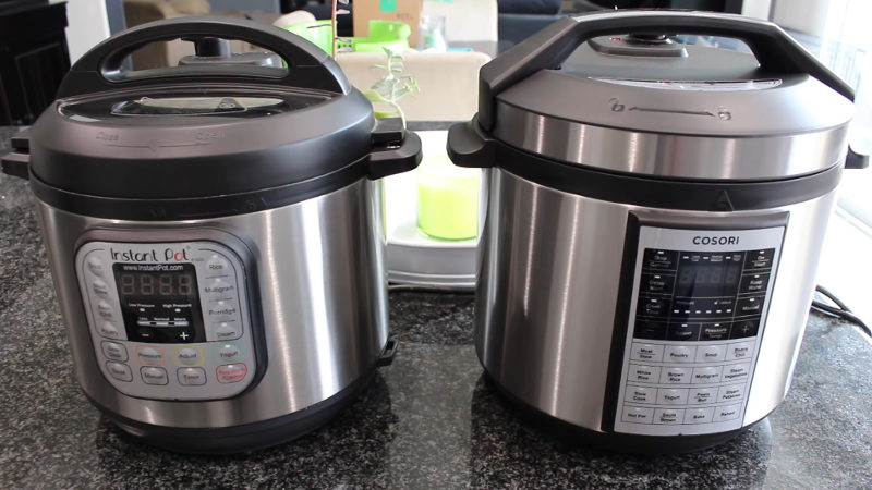 cosori premium 8-in-1 vs instant pot