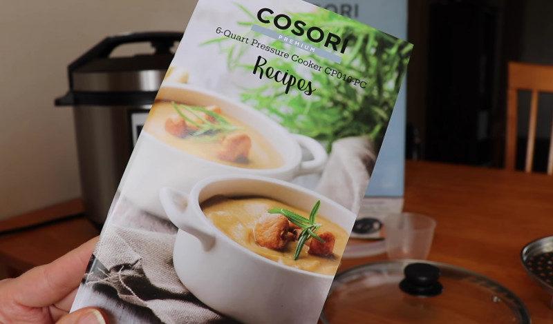 cosori pressure cooker 6 qt 7 in 1