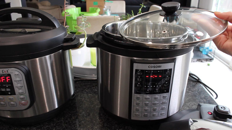 cosori vs. instant pot duo lux