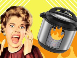 instant pot burn
