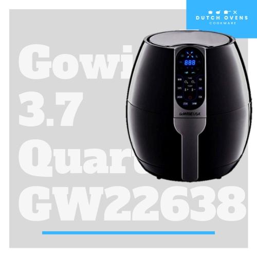 gowise usa 3.7 quart air fryer gw22638