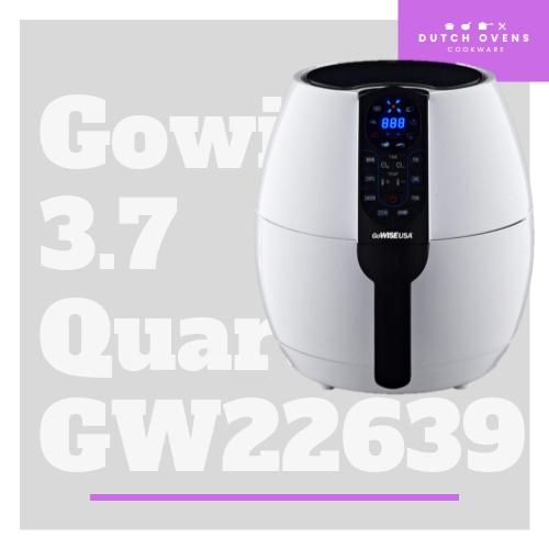 gowise usa 3.7 quart air fryer gw22639