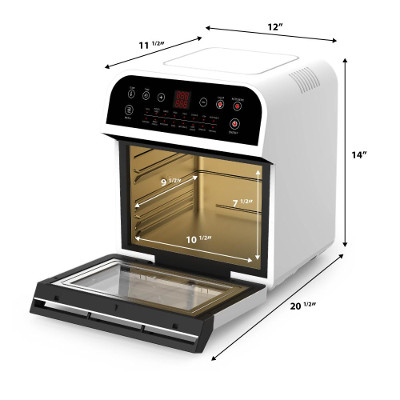gowise air fryer oven size