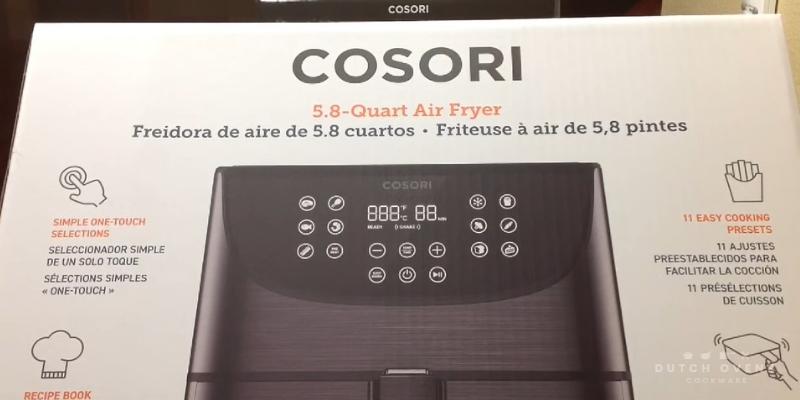 cosori air fryer box