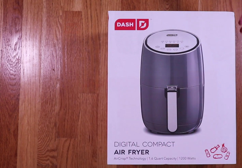 dash compact air fryer reviews