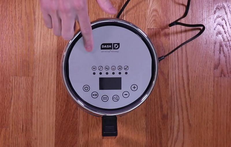 dash compact electric air fryer