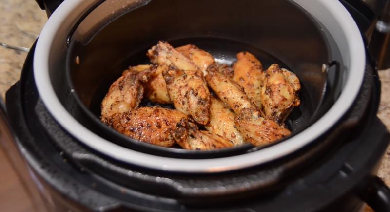 frozen chicken wings air fryer