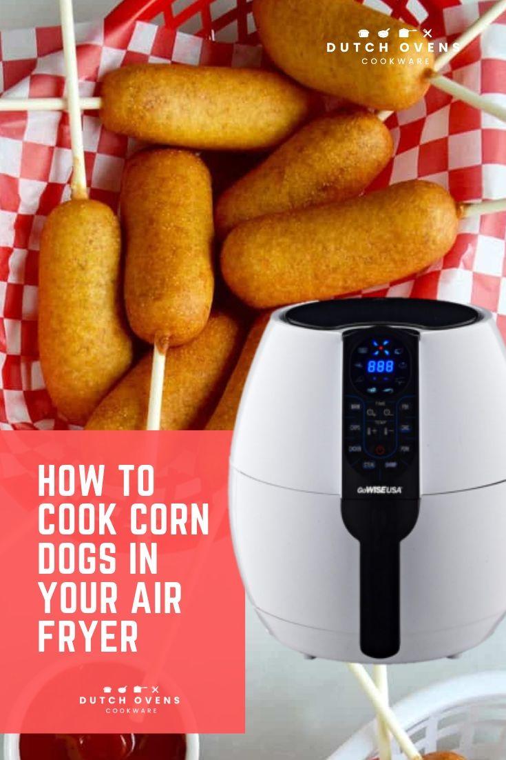 frozen mini corn dogs in air fryer