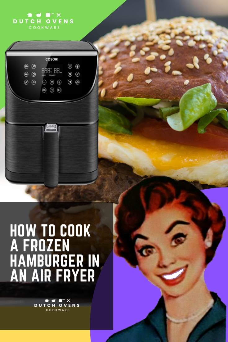 how long to cook hamburger patty in air fryer