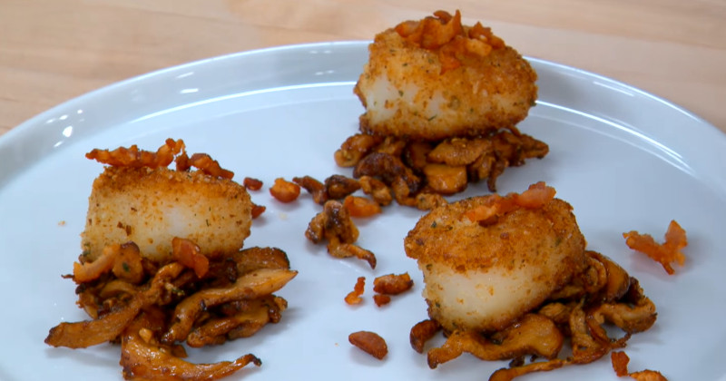 how to cook scallops in hot air fryer
