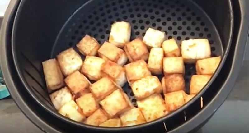 fried tofu in air fryer