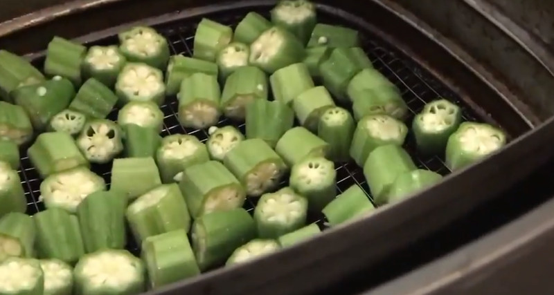 frozen fried okra in air fryer
