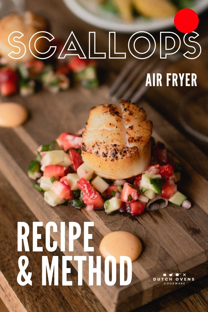air fryer sea scallops
