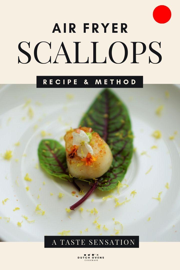 cooking frozen scallops in a hot air fryer