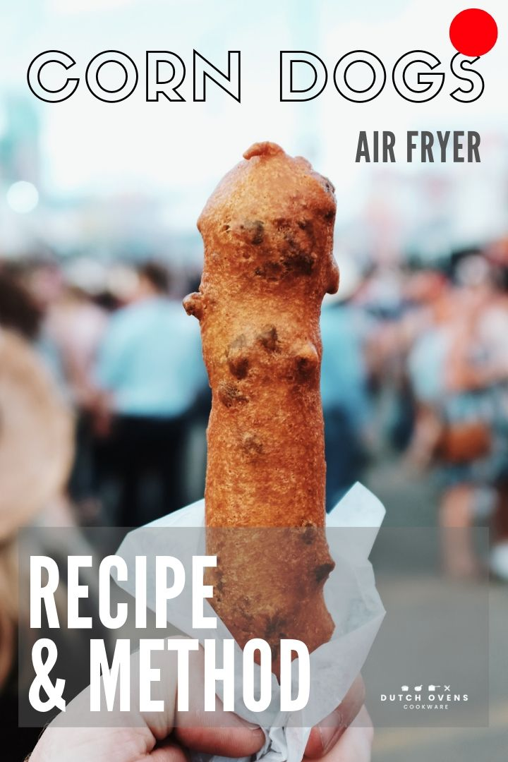 how long and temp to cook frozen corn dogs in an air fryer