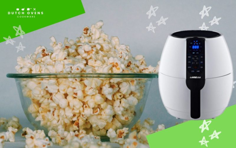 can you use an air fryer to pop popcorn