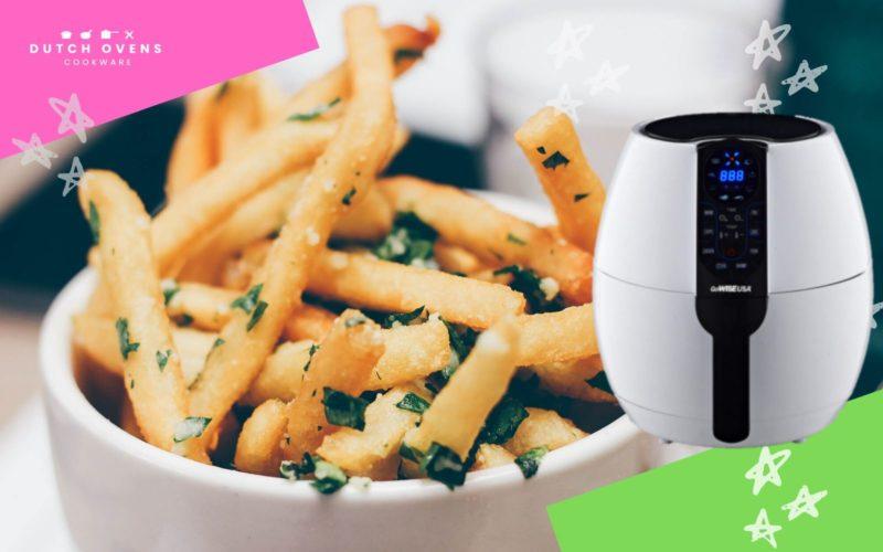 does an air fryer make food crispy