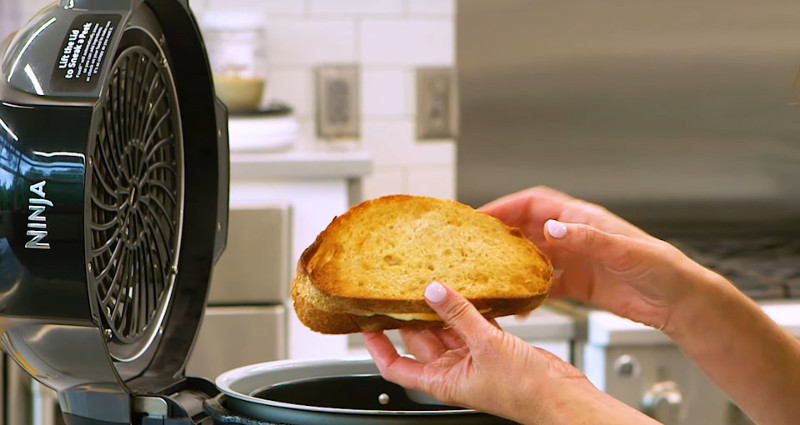 grilled cheese in an air fryer