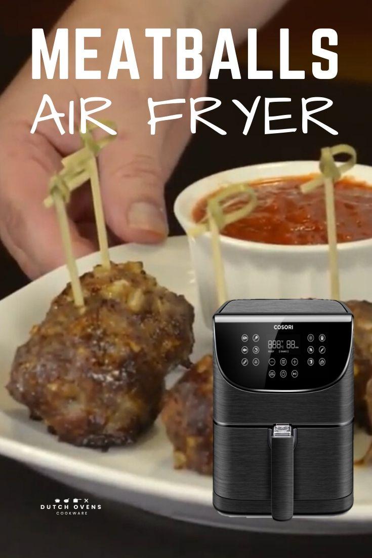 meatballs in air fryer